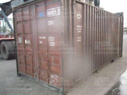 Изображение 20-футовый б/у контейнер №0618235