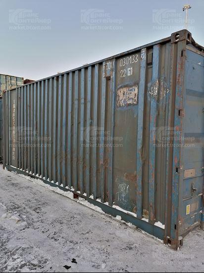 Изображение 20-футовый б/у контейнер №0301338