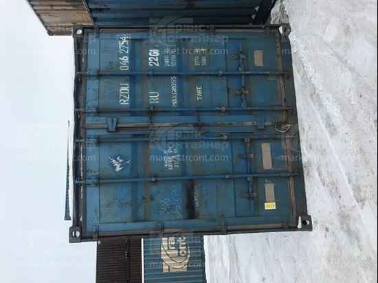 Изображение 20-футовый б/у контейнер №0462754