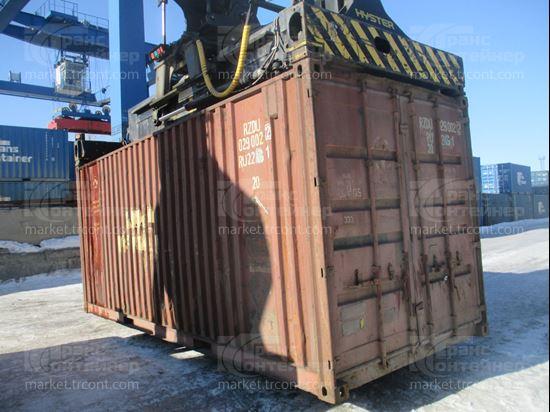 Изображение 20-футовый б/у контейнер №0290022