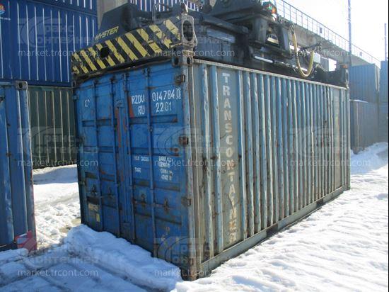 Изображение 20-футовый б/у контейнер №0147840