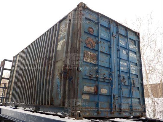 Изображение 20-футовый б/у контейнер №0474164