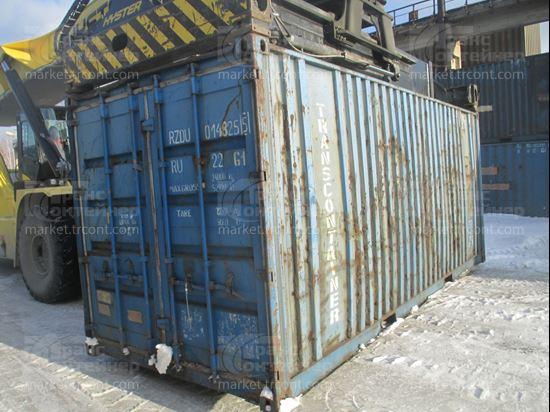 Изображение 20-футовый б/у контейнер №0148255