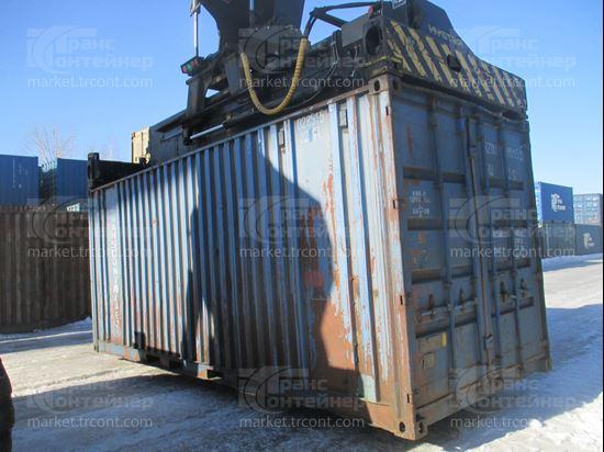 Изображение 20-футовый б/у контейнер №0285155
