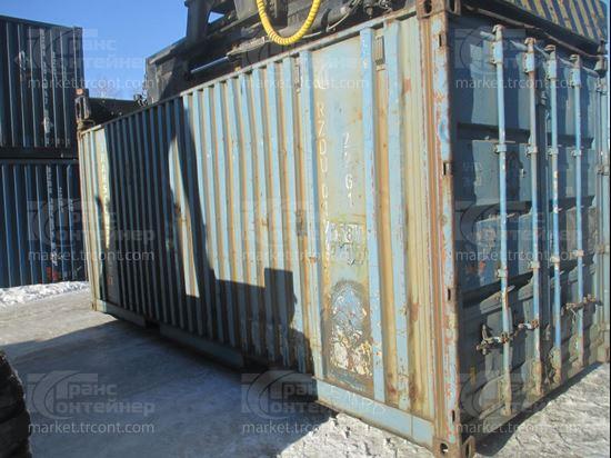 Изображение 20-футовый б/у контейнер №0194538