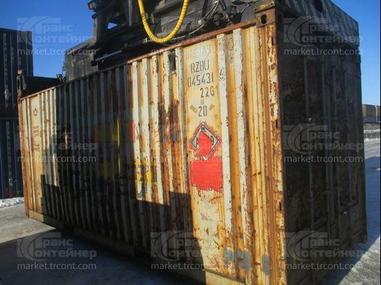 Изображение 20-футовый б/у контейнер №0454316