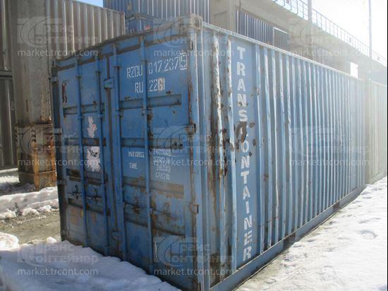 Изображение 20-футовый б/у контейнер №0172375