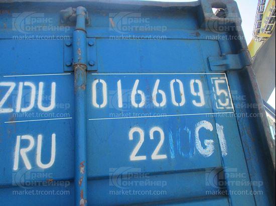 Изображение 20-футовый б/у контейнер №0166095