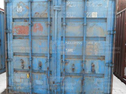 Изображение 20-футовый б/у контейнер №0081280