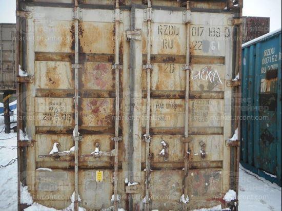 Изображение 20-футовый б/у контейнер №0171390