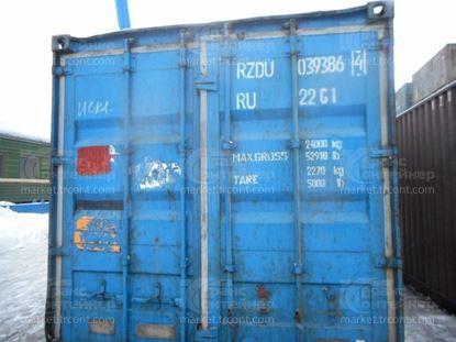 Изображение 20-футовый б/у контейнер №0393864