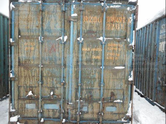 Изображение 20-футовый б/у контейнер №0394916