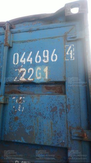 Изображение 20-футовый б/у контейнер №0446964