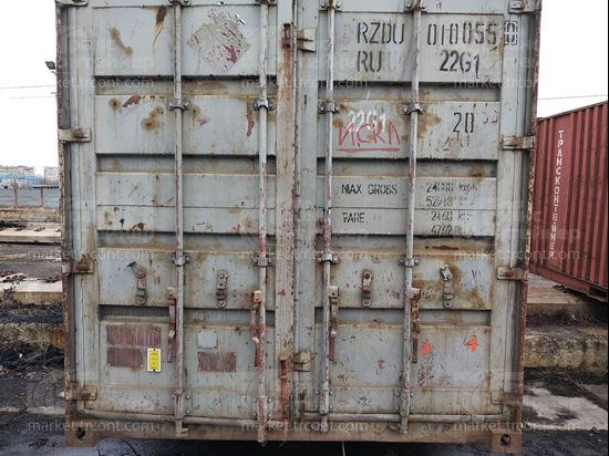 Изображение 20-футовый б/у контейнер №0100550