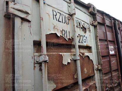 Изображение 20-футовый б/у контейнер №0004514