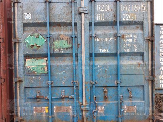 Изображение 20-футовый б/у контейнер №0420595
