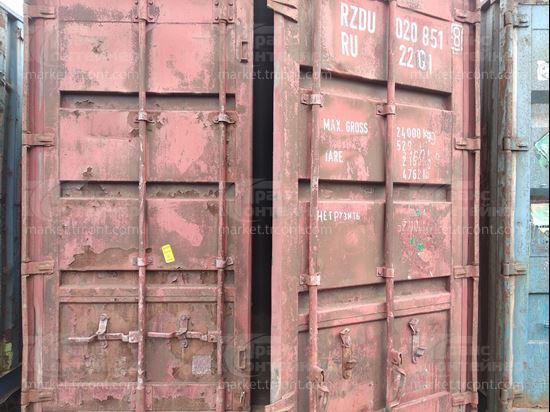 Изображение 20-футовый б/у контейнер №0208518