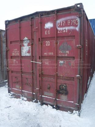 Изображение 20-футовый б/у контейнер №0188793