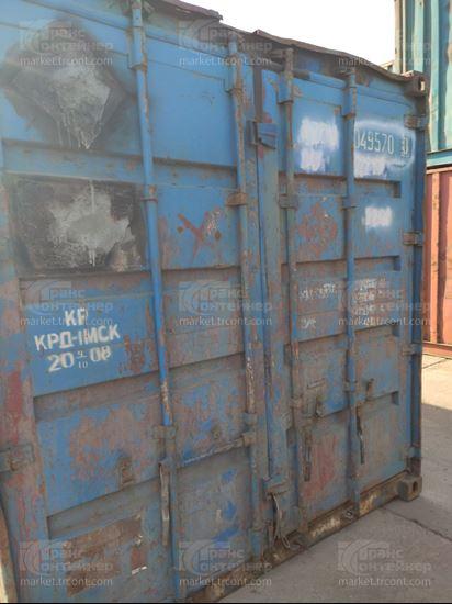 Изображение 20-футовый б/у контейнер №0495700