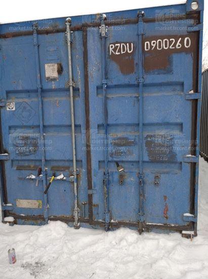 Изображение 20-футовый б/у контейнер №0900260