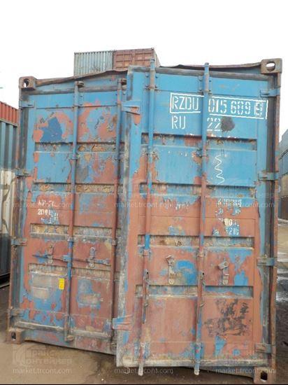 Изображение 20-футовый б/у контейнер №0156899