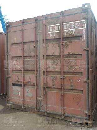 Изображение 20-футовый б/у контейнер №0158227