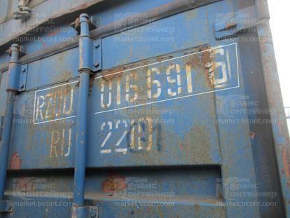 Изображение 20-футовый б/у контейнер №0166916