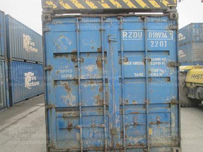 Изображение 20-футовый б/у контейнер №0189341