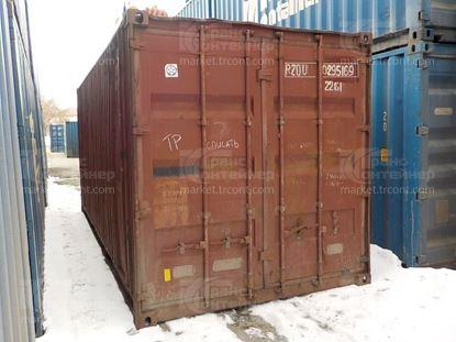 Изображение 20-футовый б/у контейнер №0295169