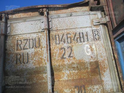 Изображение 20-футовый б/у контейнер №0464818