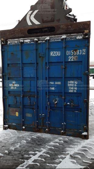 Изображение 20-футовый б/у контейнер №0155932