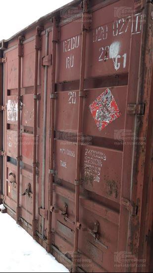 Изображение 20-футовый б/у контейнер №0200271