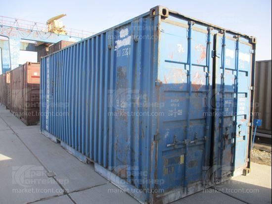 Изображение 20-футовый б/у контейнер №0106054