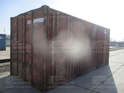 Изображение 20-футовый б/у контейнер №0214341