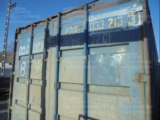 Изображение 20-футовый б/у контейнер №0332133