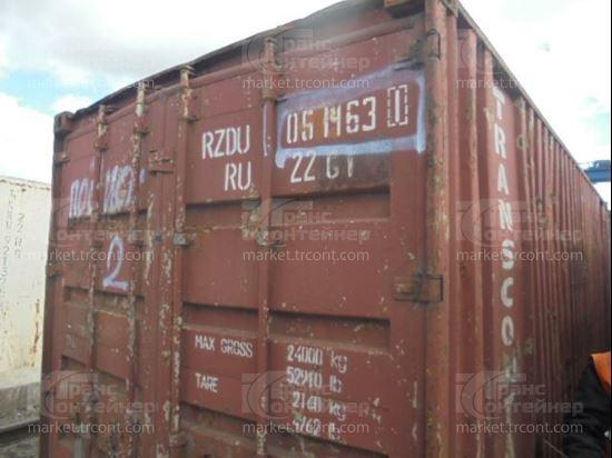 Изображение 20-футовый б/у контейнер №0514631