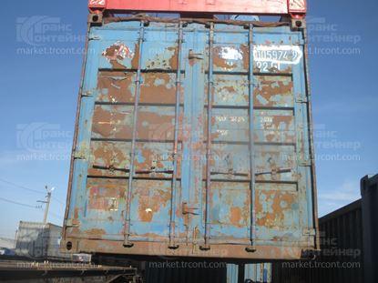 Изображение 20-футовый б/у контейнер №0059749