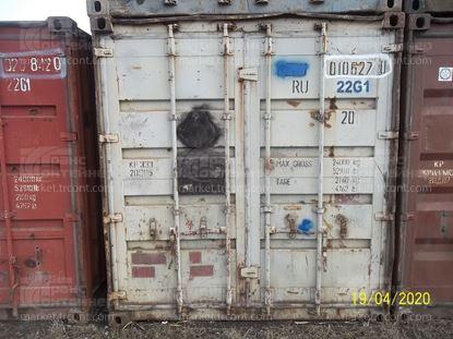 Изображение 20-футовый б/у контейнер №0106270