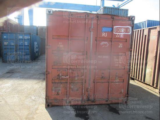 Изображение 20-футовый б/у контейнер №0130894
