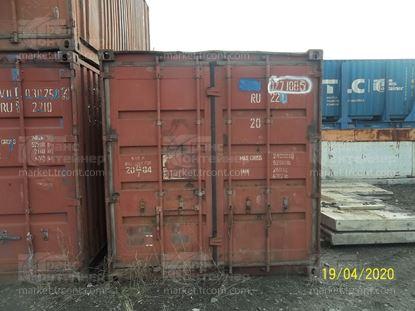 Изображение 20-футовый б/у контейнер №0271085