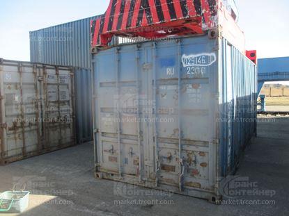 Изображение 20-футовый б/у контейнер №0291461