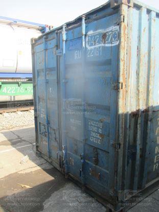 Изображение 20-футовый б/у контейнер №0429273