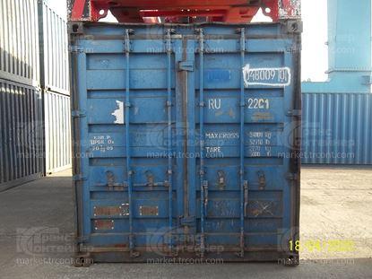 Изображение 20-футовый б/у контейнер №0480090