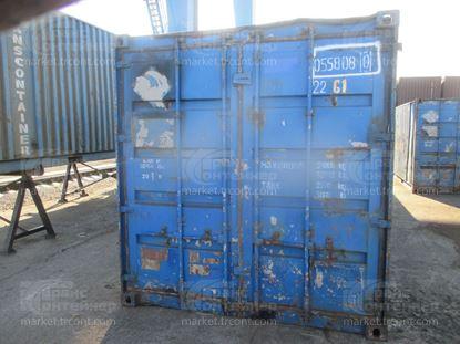 Изображение 20-футовый б/у контейнер №0558080