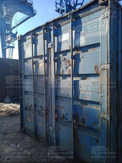 Изображение 20-футовый б/у контейнер №0541684