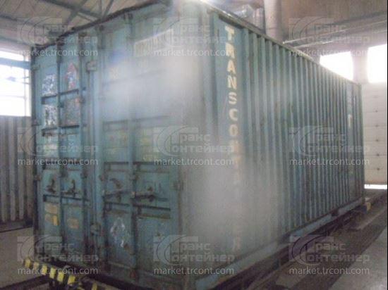 Изображение 20-футовый б/у контейнер №0120915