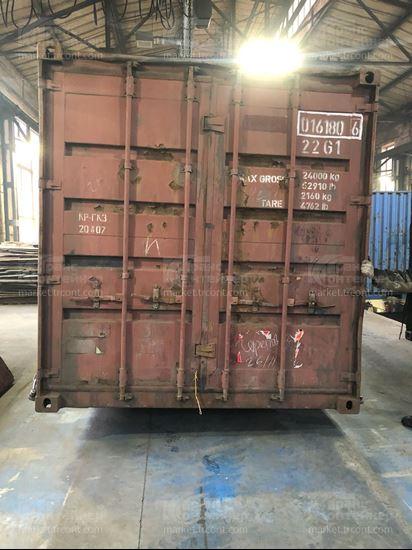 Изображение 20-футовый б/у контейнер №0161806