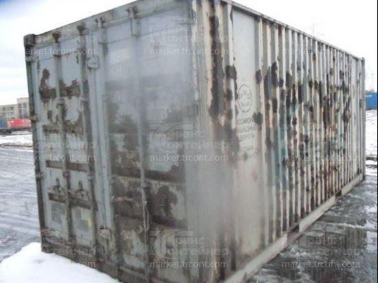 Изображение 20-футовый б/у контейнер №0172544