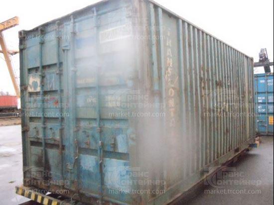Изображение 20-футовый б/у контейнер №0270129