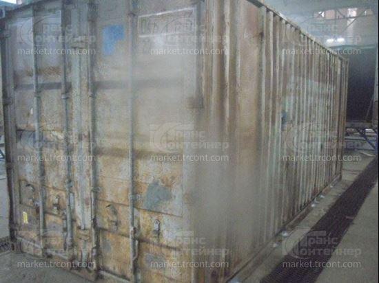 Изображение 20-футовый б/у контейнер №0452756